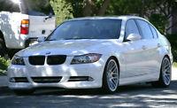 BMW E90 E91 RAJOUT DE PARE CHOC AVANT / JUPE AVANT