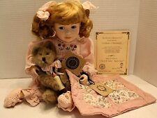 Boyds Yesterdays Child 16� Cheryl Ann & Ashley Nighty Night – Porcelain Doll