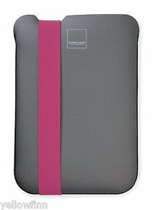 Acme Made Skinny Sleeve Case Cover For Apple iPad Mini 1/2/3 - Pink / Grey
