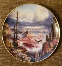 "Danbury Mint ""Where Eagles Soar"" by Rudi Reichardt 8"" Plate.Grand Canyon"