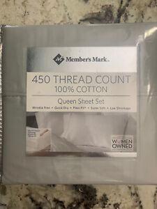Members Mark Queen Sheet Set