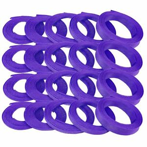 "3/8"" Purple Engine & Harness Wire Loom - 200 Feet stereo muscle car v8 hot"
