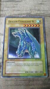Carte Yu-Gi-OH-Dragon étincellant N 2-1 ere édition-SKE-FR014