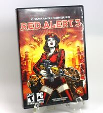 Command & Conquer: Red Alert 3  (PC WIN XP DVD, 2008) with Manual