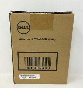 Dell Secure Print Memory Module 512MB DDR2-667 MHz SO-DIMM 0MP0HNA00 *NEW*