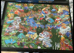 Gibsons Happy Campers 1000 Piece Jigsaw