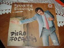 """PIERO FOCACCIA """" PERMETTE SIGNORA """" UN DISCO PER L'ESTATE'70 ITALY"""