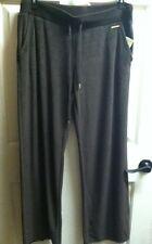 Michael Kors Velour Sweat Pants Chocolate Brown Sz Large $90