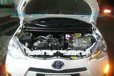 12 13 14 Toyota Prius C City NHP10 Black Strut Gas Lift Bonnet Hood Damper Kit