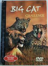 2 BIG CAT CHALLENGE DVD VIDEO & 24 Page Book Natural Killers Predators Close-up