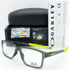 4afb88a29eb Oakley Chamfer Squared RX Prescription Frame Grey Yellow Ox8143-0654 54mm