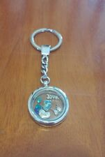 Loss of a son for mom dad miscarriage floating living memory locket keychain
