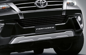 FRONT BUMPER UNDER PROTECT GENUINE PARTS FOR TOYOTA FORTUNER 2015 - 2019