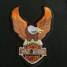 HARLEY DAVIDSON UPWING EAGLE BAR SHIELD VEST JACKET PATCH XL NEW LSM