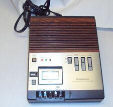Vintage Panasonic Rr-900 Microcassette Transcriber Dictation Machine Working