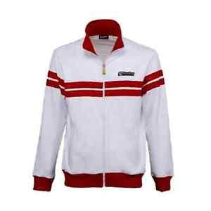 New Men's Vespa Racing Sixties Fleece ~ Red/White ~ 3XL ~ #607508M06W