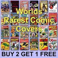 Rare Comic Posters Super Hero Poster Comics Poster Batman Spider Man Hulk