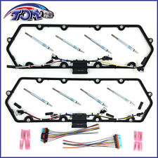 NEW  COVER GASKETS HARNESS & GLOW PLUGS KIT FOR 98-03 POWERSTROKE 7.3L V8 DIESEL