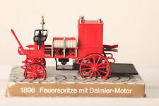 voiture ancienne 1896 Feuerspritze avec DAIMLER MOTOR environ 11 cm long (53559)