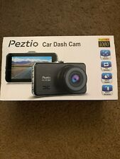 Dual Dash Cam Front and Rear, 1080p HD Car DVR Dashboard Camera Recorder Peztio
