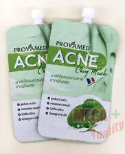 2x Provamed Acne Clay Mask Reduce Dark Spot Oil Control Tight Pore Skin 5g