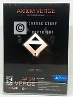 Axiom Verge - Multiverse Edition - PS4 - Brand New   Factory Sealed