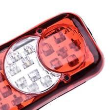 12V/24V 46 LED Truck Trailer Tail Lights Turn Signal Reverse Brake Rear Lamp
