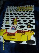 THE BEATLES YELLOW SUBMARINE COLLECTORS  CARTOON PAPER FOLDER