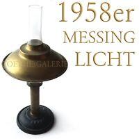 Petroleumlampe ATRIUM Brenner 1958 Messing Gusseisen