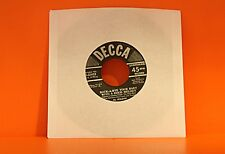 "AL JOLSON - ROCK-A-BYE YOUR BABY WITH A DIXIE MELODY /  -  7"" single 45"