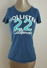 Hollister Women's Jr's Blue Short Sleeve Graphic Tee size S