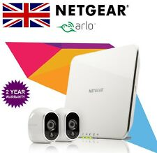 Netgear Arlo VMS3230 Smart Home Wireless CCTV Security System + 2 HD Cameras