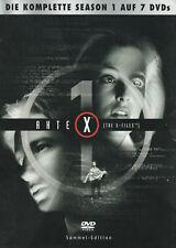 AKTE X - 1. Staffel - David Duchovny & Gillian Anderson - 7 x DVD SET