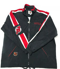 New Jersey Devils NHL Center Ice Collection Starter Jacket Mens XL Vintage