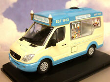 OXFORD DIECAST 1/43 MERCEDES WHITBY MONDIAL ICE CREAM VAN PICCADILLY WHIP WM007