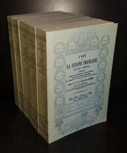 Art de la cuisine française au XIXe siècle (5 volumes) CARÊME Antonin