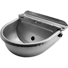 STAINLESS Water Bowl Trough AUTO Filling Drinking Float Equine Cattle Dog 3Litre