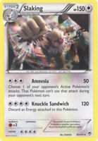 3 x Pokemon Card - XY Furious Fists 83/111 - SLAKING (holo-foil) - NM/Mint