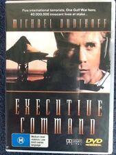 EXECUTIVE COMMAND - Michael Dudikoff - All Regions -,DVD # 188