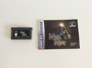 Nintendo Gameboy Advance - MANIC MINER game and manual