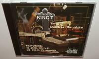 KING T THE RUTHLESS CHRONICLES (2004) BRAND NEW SEALED RARE OOP CD DR DRE WC