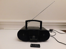 SONY Personal Audio Docking System ZS-S3iP CD Player iPod Docking Radio Tested