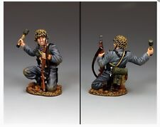 WH081 WW2 Kneeling German Panzer Grenadier Mint in Box WH81 Normandy D-Day