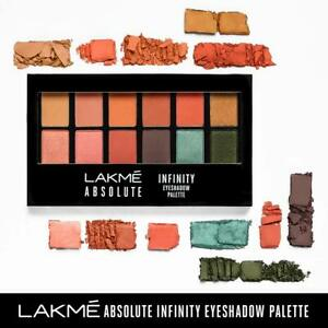 Lakme Absolute Infinity Eye Shadow Palette Coral Sunset 12 gm Free Shipping