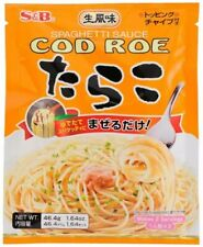 S&B Japanese Cod Roe Spaghetti Sauce 2 Servings 1.64 oz (46 g) Product of Japan