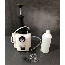 1l Air Brake Bleeder Kit Clutch Vacuum Bleeding Extractor Fluid Fill 4x Adapter