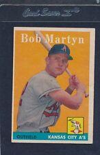 1958 Topps #039 Bob Martyn A's EX 58T39-82715-2