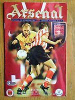 Arsenal v Everton 1996/97 programme