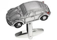 Car Iconic VW Bug Beetle Cufflinks Silver Wedding Fancy Gift Box Free Ship USA