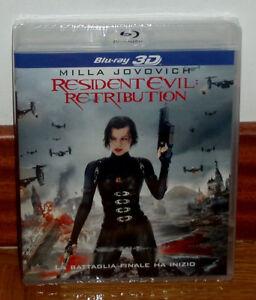 Resident Evil: Revenge Blu-Ray+3D New Sealed Action Terror (Sleeveless Open) R2